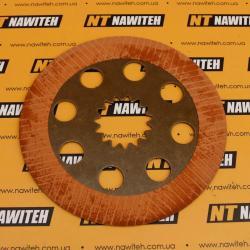 Plate brake friction